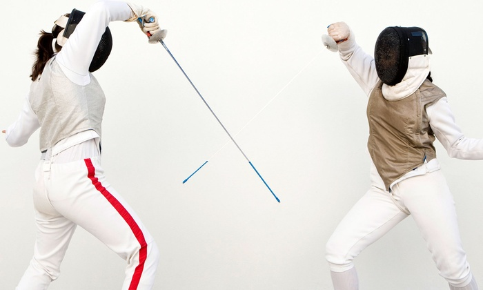 Beaches Sabre Club - Troy: Four or Eight Introductory Group Saber-Fencing Classes at Beaches Sabre Club (Up to 61% Off)