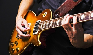 SWS Music: Five One-Hour Guitar Lessons For One (£22.50) or Two (£36) at SWS Music (Up to 86% Off)