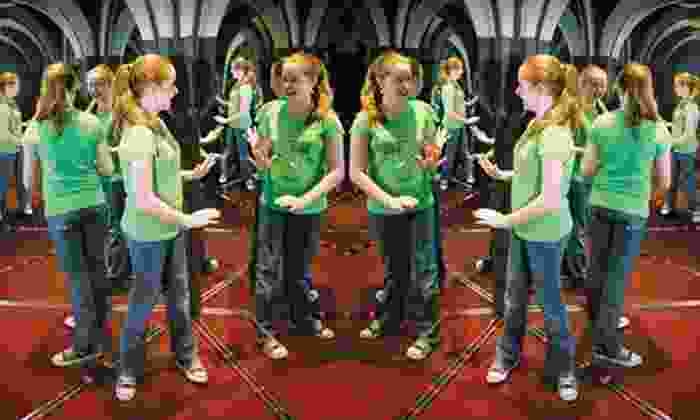 Ultimate Mirror Maze Challenge and The Vault Laser Beam Challenge - Downtown: Admission for Two or Four to the Ultimate Mirror Maze Challenge and The Vault Laser Beam Challenge (Up to 67% Off)