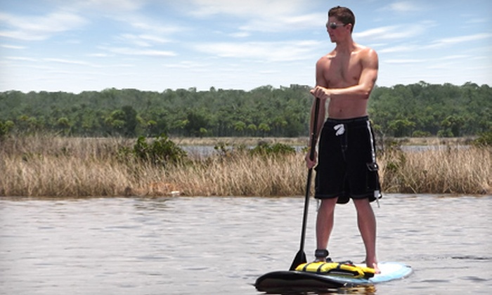 Nature Coast SUP - Multiple Locations: One- or Two-Hour Standup-Paddleboard Rental for One or Two at Nature Coast SUP (Up to 56% Off)