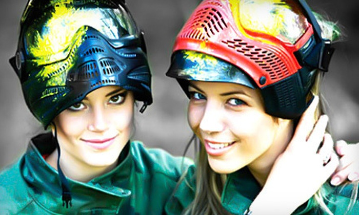 Paintball World Sports Complex - West Colonial: Full-Day Paintball Outing for One, Two, or Four at Paintball World Sports Complex (Up to 54% Off)