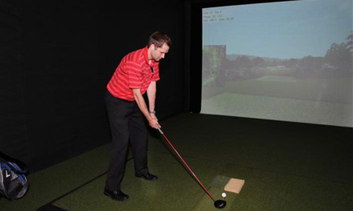 Brookfield Indoor Golf Club - Brookfield: $30 for Two Hours of Golf-Simulator Play for Up to Eight People at Brookfield Indoor Golf Club (Up to $70 Value)