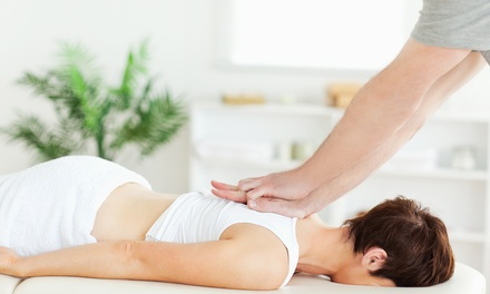 $25 for a 60-Minute Massage and Chiropractic Consultation at HealthSource ($110 Value)
