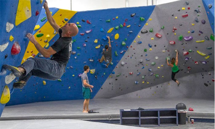 The Refuge Climbing & Fitness - Summer Climbing Camps for Kids: Bouldering Basics Class for 1 or 2 or Three-Day Kids Time Pass at The Refuge Climbing & Fitness (Up to 70% Off)