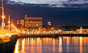 St. Augustine Attractions Center: Night of Lights Boat Tours for Two or Four from St. Augustine Attractions Center (Up to 46% Off)