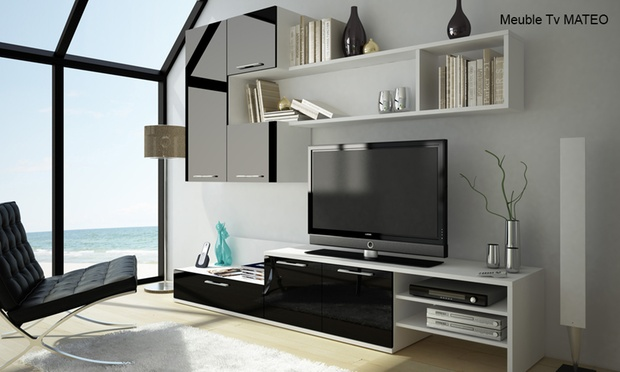 ensemble de salon groupon shopping. Black Bedroom Furniture Sets. Home Design Ideas