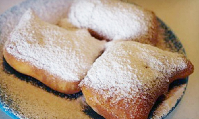 Rue Beignet - Airline/Jefferson: $12 for a Five-Visit Punch Card for Beignets and Coffee at Rue Beignet ($25 Value)