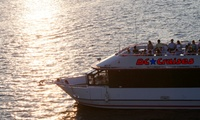 GROUPON: Up to 48% Off Happy Hour Boat Cruise Experience    DC Cruises