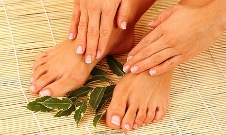 Spa pédicure, beauté des pieds et/ou manucure avec bain paraffine des mains