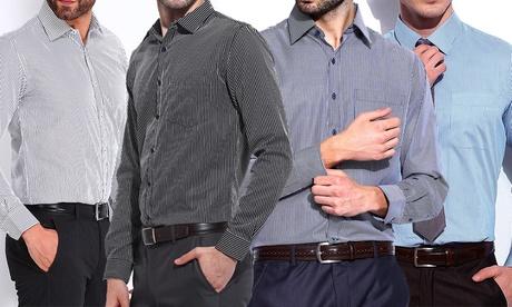 Pack di 2 camicie a righe. Vari colori disponibili
