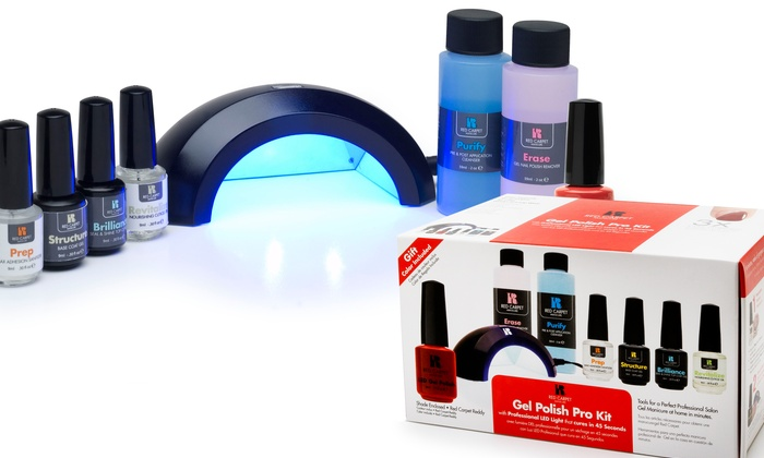 red carpet manicure led light instructions