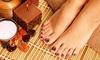 Fußpflege mit Reflexzonenmassage