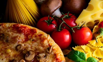 Italian food amante pizza pasta groupon for Amante italian cuisine