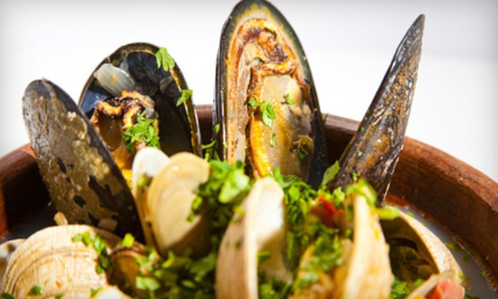 Spazio - East Braintree: Contemporary Mediterranean Cuisine at Spazio (Up to 55% Off). Two Options Available.