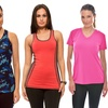 Women's Moisture-Wicking Activewear Tops Mystery Deal
