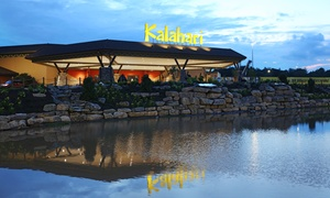 Stay At Kalahari Resorts & Conventions In Pocono Manor, Pa. Dates Into December.