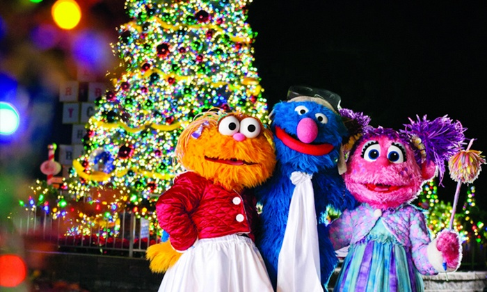 """Sesame Place - Sesame Place: $16 for """"A Very Furry Christmas"""" Single-DayAdmission for One at Sesame Place ($26.73Value)"""