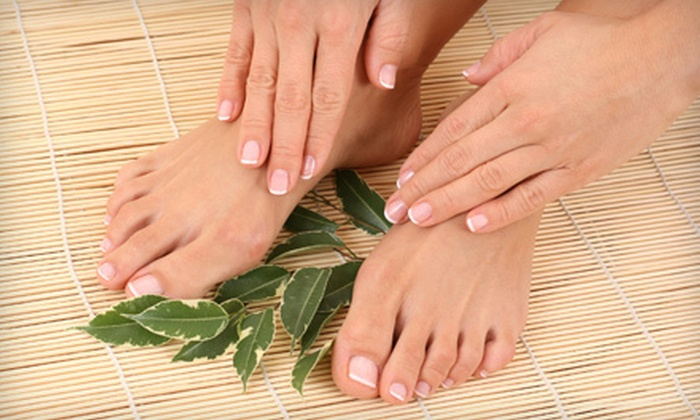 A Cute Spa - North Raleigh: Chocolate Mani-Pedi with Hand Mask or Classic or Signature Mani-Pedi at A Cute Spa (Up to 58% Off)