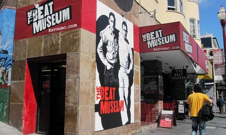 Museum Visit for Two or Four with Poster at The Beat Museum (Up to 66% Off)