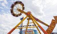 Pleasure Beach: All-Day Entry with Adventure Golf and Ferris Wheel Ride (Up to 38% Off)