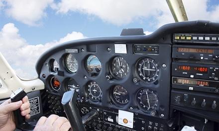 Ultraleichtflugzeug selber fliegen mit Fluglehrer inkl. Theorie bei Pilot Inside ab 49 € (bis zu 58% sparen*)