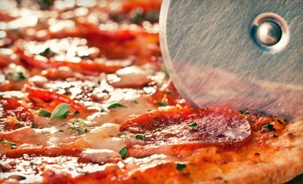 Italian-Style Pizza, Subs, and Salads at Marco's Pizza (Half Off). Two Options Available.