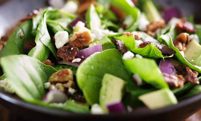 MIX Fresh & Natural - Downtown Los Angeles: Locally Sourced, Vegan-Friendly Salads and Wraps at MIX Fresh & Natural (29% Off). Two Options Available.