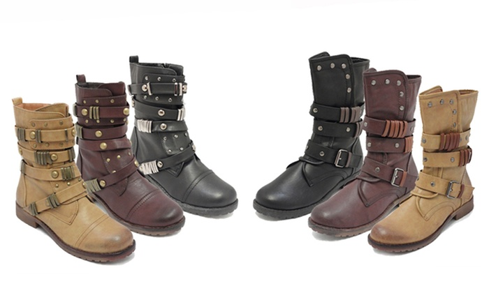Bucco Afris & Mairo Moto Boots: Bucco Afris & Mairo Moto Boots. Multiple Styles, Colors, and Sizes Available. Free Returns.