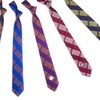 NCAA Men's Fashion Skinny Plaid Ties