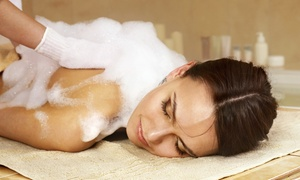 Crystal Beauty Lounge: Moroccan Bath and an Optional Turkish Soap Massage at Crystal Beauty Lounge (Up to 69% Off)