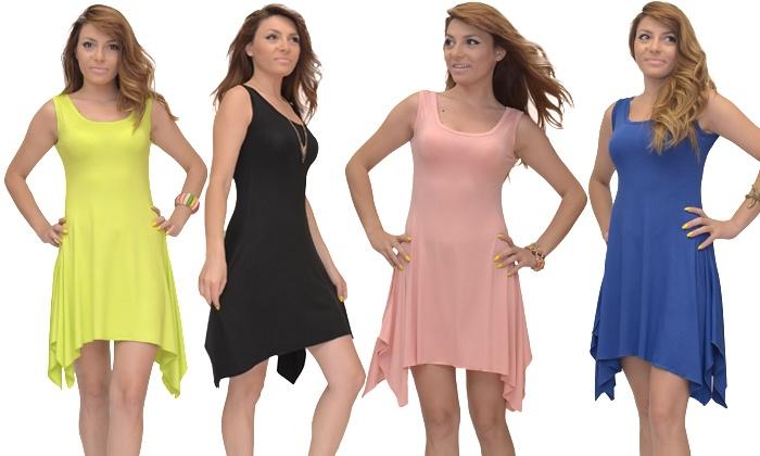 Licht Blauwe Jurk : Licht katoenen jurk groupon goods