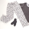 Women's Long Sleeve Polar Fleece PJ Set (Size L)