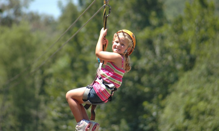 Xtreme Ziplines - Durham: $59 for a Zipline Experience for One at Xtreme Ziplines ($99 Value)