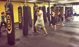 CKO Bay Ridge: Two Consecutive Weeks or One Month of Unlimited Kickboxing Classes with Gloves at CKO Kickboxing (Up to 59% Off)
