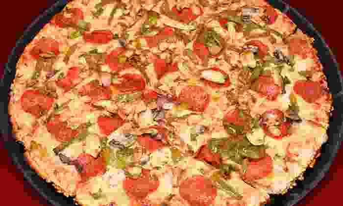 Sanfratello's Pizza - Glenwood: Pizza and Italian Cuisine at Sanfratello's Pizza (50% Off). Two Options Available.