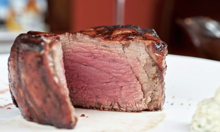 Steak-House Cuisine at The Country Club (50% Off). Two Options Available.