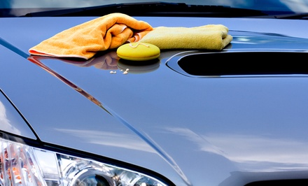 Interior and Exterior Auto-Detailing Packages at Hybird Auto Cleaning Service (Up to 60% Off). Two Options Available.