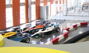 Dallara IndyCar Factory: Factory-Tour Package for Two, Four, or Eight at The Dallara IndyCar Factory (Up to 60% Off)
