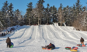 Domaine de l'Ange-Gardien: One All-Day Snow-Tubing Pass for Two or a Family of Four at Le Domaine de L'Ange-Gardien (Up to 51% Off)