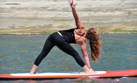 Paddleboard Fitness Class or Two Weeks of Unlimited Classes for One or Two at Carlsbad Paddle Club (Up to 55% Off)