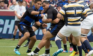 Penn Mutual Varsity Cup Rugby Championship 2015: Two or Four Tickets to the 2015 Penn Mutual Varsity Cup Rugby Championship at Rio Tinto Stadium on May 2 (45% Off)