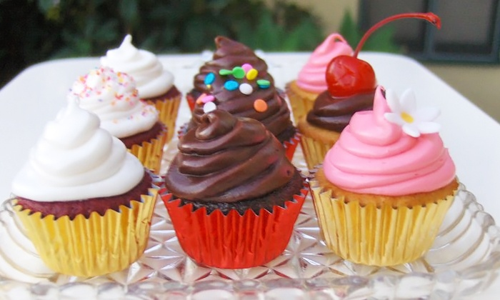 SugarJones - Valley Village: $25 for a Chef's Choice Assortment of Two Dozen Wee Cupcakes from SugarJones (Up to $35 Value)