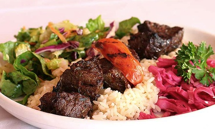 Mediterranean Food for Dinner at Pera Mediterranean Grill (Up to 50% Off). Two Options Available.
