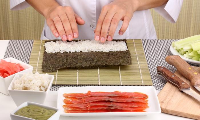Cours de cuisine japonaise supreme sushi groupon for Apprendre cuisine japonaise