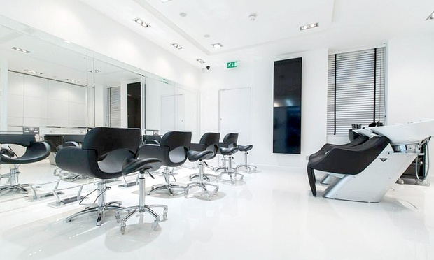 Cut blow dry and aveda treatment studio hair beauty for Nail salon marylebone