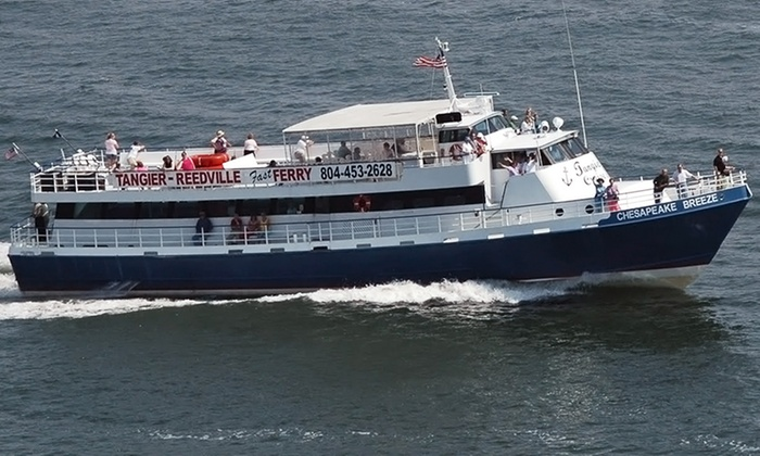 Tangier Rappahannock Cruises - 5: $39 for Two Adult Tickets to Tangier Island with Return from Tangier Rappahannock Cruises ($54 Value)