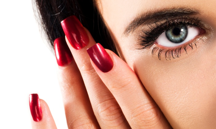 Nail care services pamper me salon and spa groupon pamper me salon and spa toronto gore rural estate mani and pedi or shellac prinsesfo Image collections