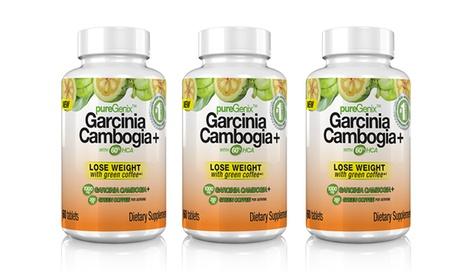 pureGenix Garcinia Cambogia+ with 60% HCA (1-, 2-, or 3-Pack)