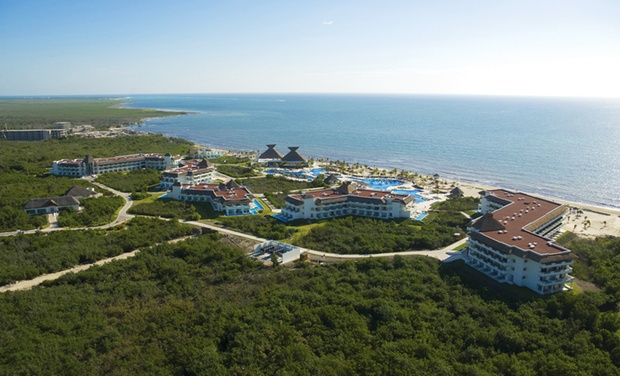 TripAlertz wants you to check out ✈ 4-Night BlueBay Grand Esmeralda Stay w/Airfare. Taxes & Fees Included. Price per Person Based on Double Occupancy.  ✈ 4-Star All-Inclusive Mexico Vacation with Airfare - All-Inclusive Mexico Vacation