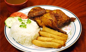 Savory Fried Chicken: Filipino-Style Fried and Grilled Chicken at Savory Fried Chicken (Up to 44%Off)